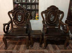 Bộ bàn ghế guột