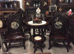 Bộ bàn ghế Trúc kép