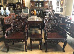 Bộ bàn ghế Dơi Ngậm Kim Tiền