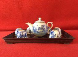 Khay trà gỗ trắc