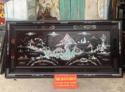 Tranh Khảm Đồng Quê