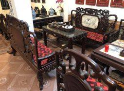 Bộ bàn ghế Đoản gỗ gụ