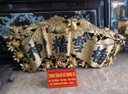 Bức Châm Thư Sơn Son Thiếp Vàng