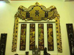 Bức Khánh Thọ Sơn Thiếp Vàng